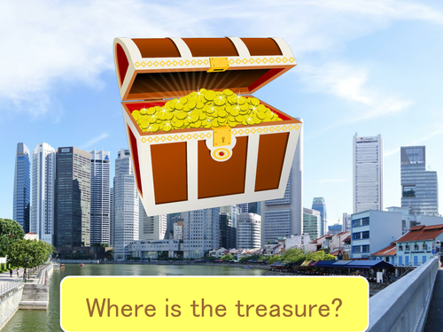 Treasure Hunt - Places in Town and Directions