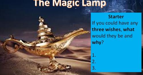 The Magic Lamp - Creative Writing