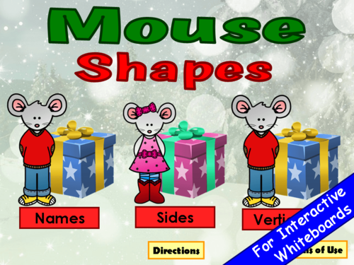 Mouse Shapes PowerPoint Game