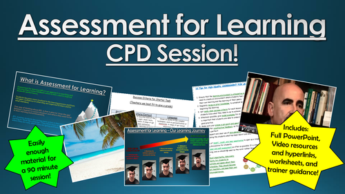 Assessment for Learning CPD Session!