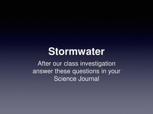Understanding Stormwater Pollution