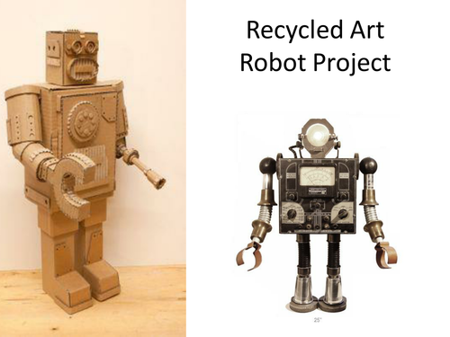 Recycled Art Robots Project