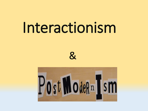 ethnomethodology and symbolic interaction perspectives differ