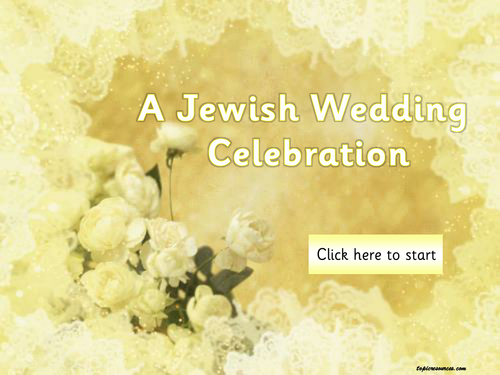 A Jewish Wedding Topic Bundle