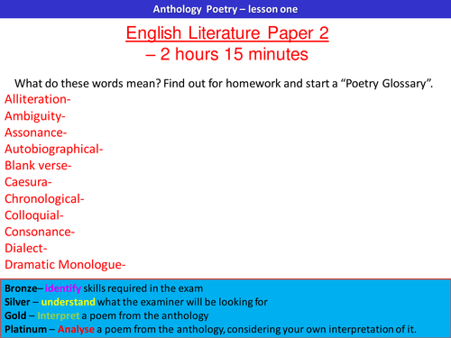 poetic structure in ozymandias essay Sentence stems to help with essays (word) essay plan structure to help with organising essays comparing two poems (word powerpoint consolidating understanding of poetic.