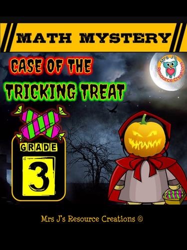 Halloween Math Mystery Activity