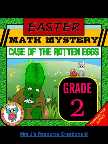 Easter Math Mystery Activity