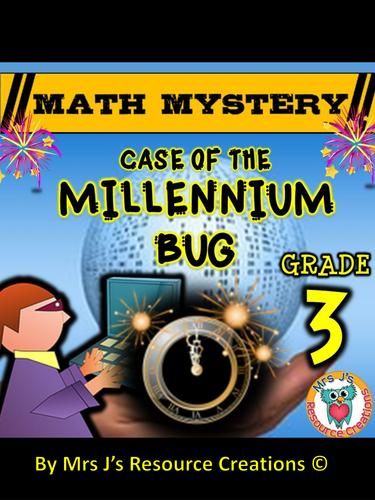 New Year Math Mystery Activity