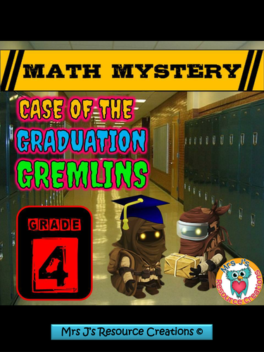 End of Year Math Mystery (GRADE 4)