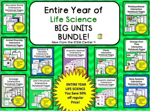 Life Science: BIG UNITS BUNDLE!