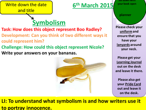 symbolism essay titles