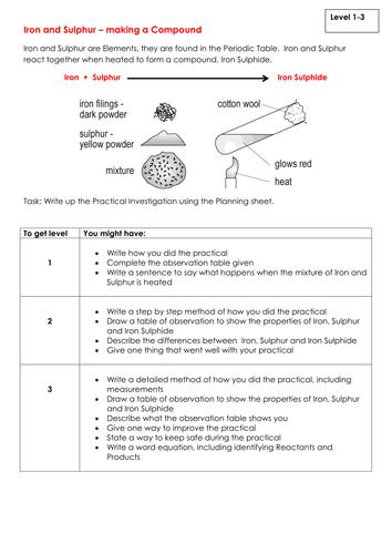Aqa 9 1 c25 explaining trends by cmcguinness37 teaching resources new ks3 assessment task iron and sulphur urtaz Gallery