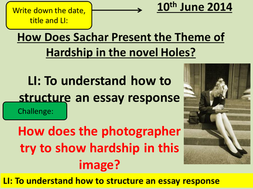help esl rhetorical analysis essay on lincoln create resume book review of holes gcse english marked by teachers com