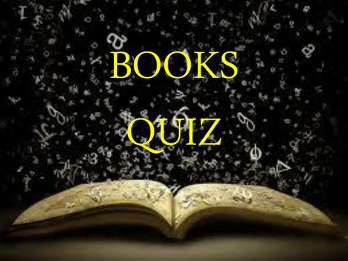 End of Year Quiz- Books