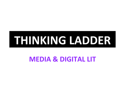Blooms Think Ladder for Media & Digital Citizenship - OFSTED loves it!