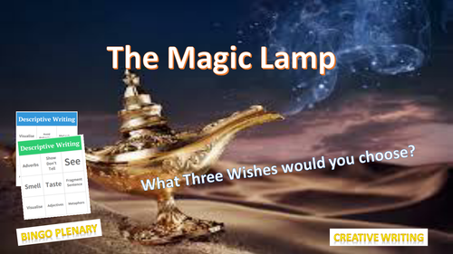 The Magic Lamp - Complete Creative Writing Lesson