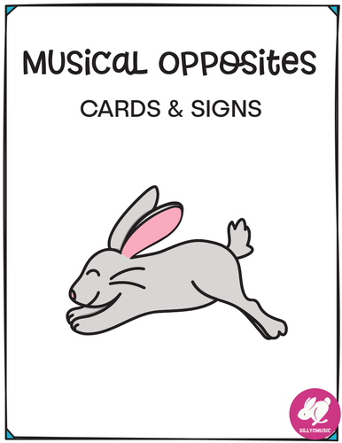 Musical Contrast Assessment Cards and Posters for Primary
