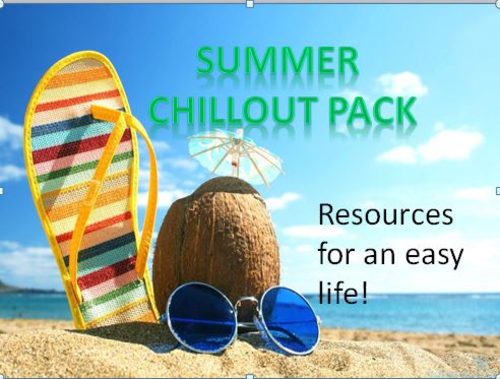 Summer Chillout Bundle Pack