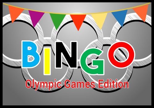 Summer Olympic Sport Bingo Rio Whole Class