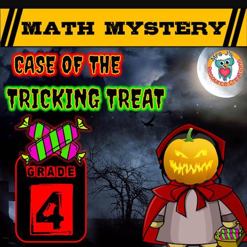Halloween Math Mystery Activity (GRADE 4)