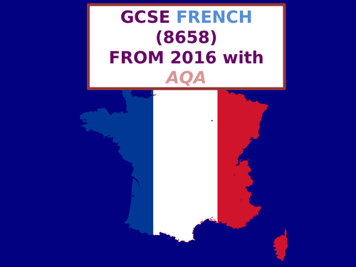 AQA GCSE French (8658)(New)(2016)