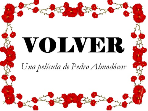 Volver by Almodóvar