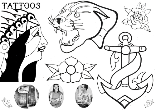 Tattoo worksheet