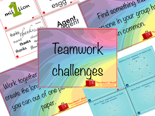 Teamwork Challenges