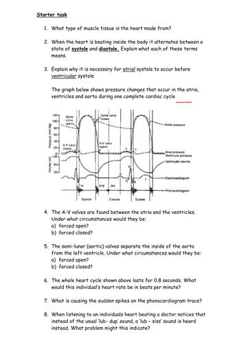 cardiac cycle easy explanation