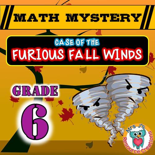 Fall Math Mystery (GRADE 6)