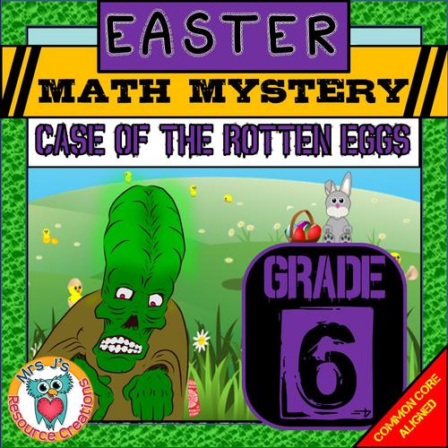 Easter Math Mystery (GRADE 6)