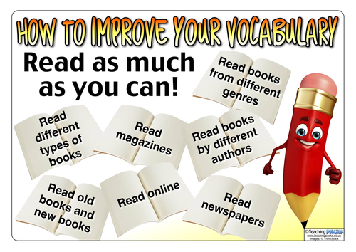 how to improve your vocabulary display posters by teachingideas teaching resources tes. Black Bedroom Furniture Sets. Home Design Ideas