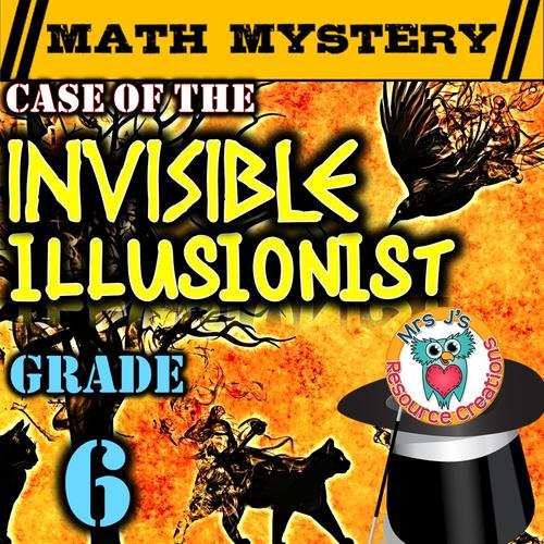 Integers Math Mystery (GRADE 6)