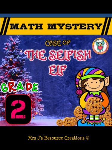 Christmas Math Mystery (GRADE 2)
