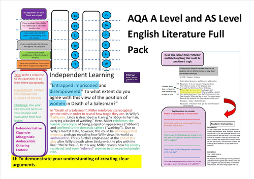 As level english literature coursework help
