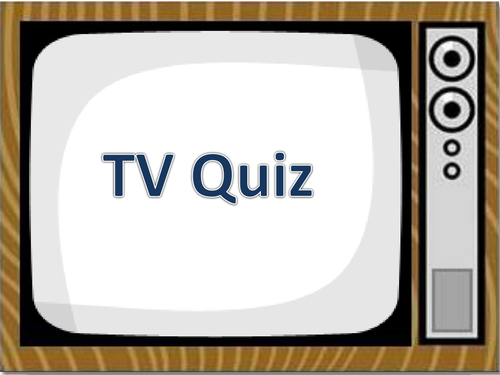 Form Time Quiz- TV