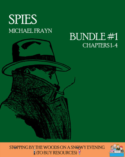 Michael Frayn's 'Spies' - Bundle #1 (Chapters 1-4)