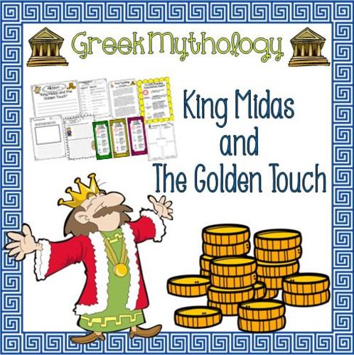 Greek Mythology King Midas Close Reading Packet