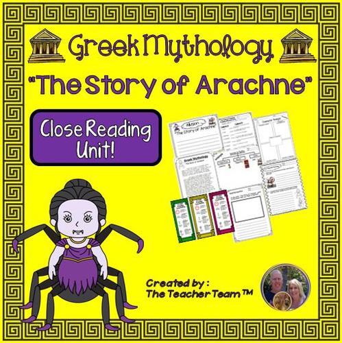 Greek Mythology The Story of Arachne Packet
