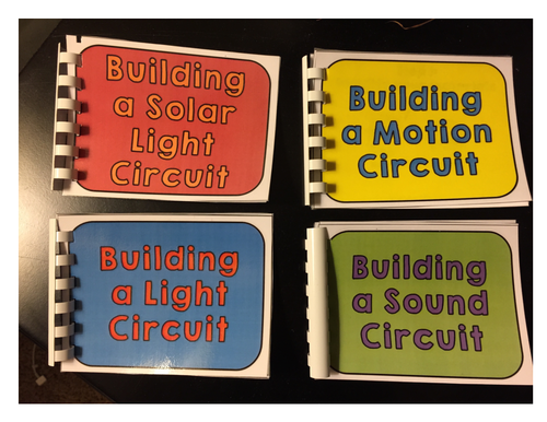 STEM: Building Circuits Mini Books