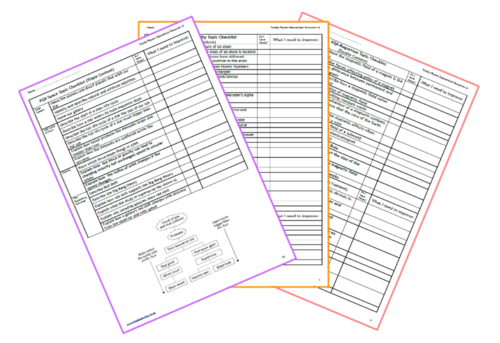 AQA Trilogy Physics Revision Checklist Pack (2018 spec)