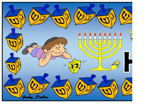 Happy Hanukkah Themed Pack