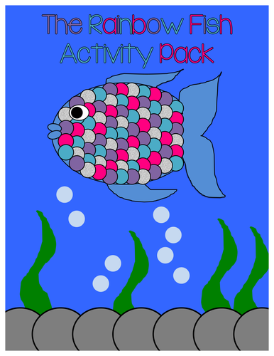 The Rainbow Fish Display and Activity Pack
