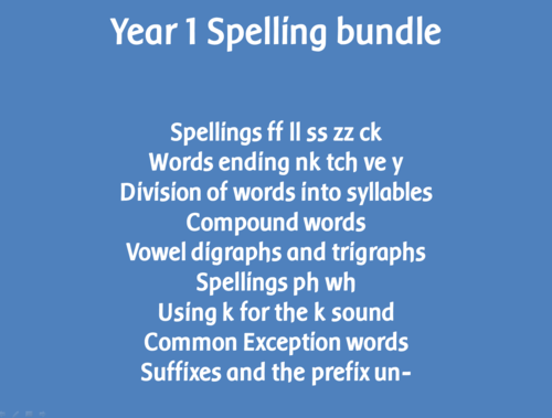 Worksheets List Of Words With Tch spag year 1 spelling pack the sound spelt tch straight after a single vowel letter by highwaystar teaching