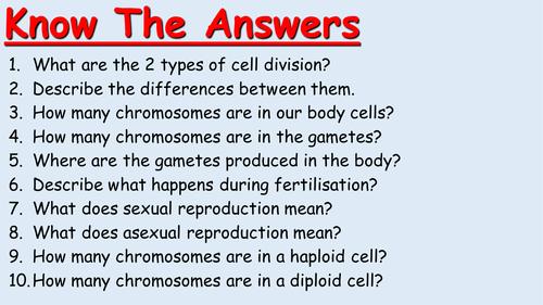 B2 AQA Stem Cells lesson