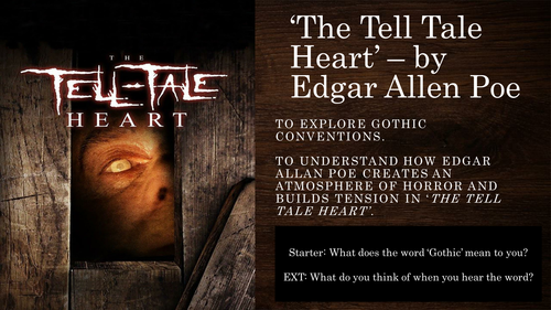 Gothic Literature - The Tell Tale Heart - Edgar Allen Poe