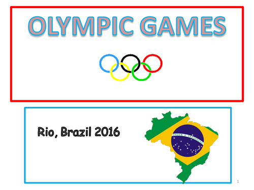 Rio Olympics 2016 Power point presentation for Assembly