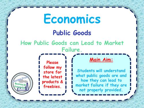 Public & Private Goods - Market Failure - Exam Practice & Key Theory ...