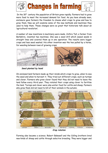 agricultural revolution by tantrumcoxzoe uk teaching resources tes. Black Bedroom Furniture Sets. Home Design Ideas