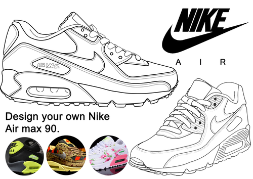 Nike AIR max 90 design your own